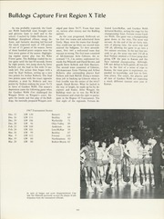 Page 105, 1968 Edition, Gardner Webb University - Web / Anchor Yearbook (Boiling Springs, NC) online yearbook collection