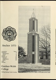 Page 5, 1970 Edition, Gardner Webb University - Web Yearbook (Boiling Springs, NC) online yearbook collection