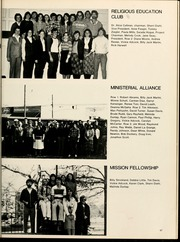 Page 71, 1981 Edition, Gardner Webb University - Web / Anchor Yearbook (Boiling Springs, NC) online yearbook collection