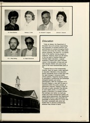 Page 85, 1986 Edition, Gardner Webb University - Web / Anchor Yearbook (Boiling Springs, NC) online yearbook collection