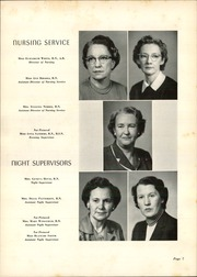Page 11, 1957 Edition, Charlotte Memorial Hospital School of Nursing - Lamp Yearbook (Charlotte, NC) online yearbook collection