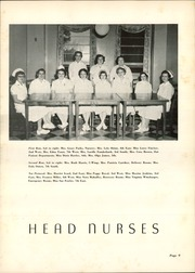 Page 13, 1957 Edition, Charlotte Memorial Hospital School of Nursing - Lamp Yearbook (Charlotte, NC) online yearbook collection
