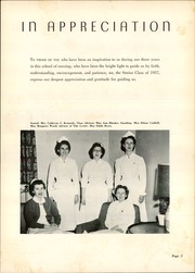 Page 9, 1957 Edition, Charlotte Memorial Hospital School of Nursing - Lamp Yearbook (Charlotte, NC) online yearbook collection