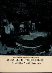 Page 7, 1956 Edition, University of North Carolina Asheville - Archive Yearbook (Asheville, NC) online yearbook collection