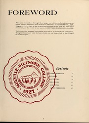 Page 9, 1958 Edition, University of North Carolina Asheville - Archive Yearbook (Asheville, NC) online yearbook collection