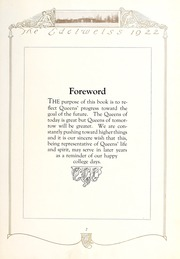 Page 13, 1922 Edition, Queens University of Charlotte - Coronet Yearbook (Charlotte, NC) online yearbook collection