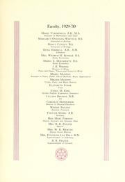 Page 15, 1930 Edition, Queens University of Charlotte - Coronet / Edelweiss Yearbook (Charlotte, NC) online yearbook collection