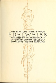 Page 7, 1934 Edition, Queens University of Charlotte - Coronet / Edelweiss Yearbook (Charlotte, NC) online yearbook collection