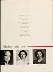 Page 15, 1947 Edition, Queens University of Charlotte - Coronet Yearbook (Charlotte, NC) online yearbook collection