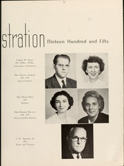Page 15, 1950 Edition, Queens University of Charlotte - Coronet Yearbook (Charlotte, NC) online yearbook collection