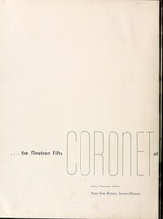 Page 6, 1950 Edition, Queens University of Charlotte - Coronet Yearbook (Charlotte, NC) online yearbook collection