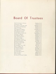Page 14, 1956 Edition, Queens University of Charlotte - Coronet Yearbook (Charlotte, NC) online yearbook collection