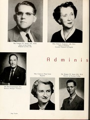 Page 16, 1956 Edition, Queens University of Charlotte - Coronet Yearbook (Charlotte, NC) online yearbook collection