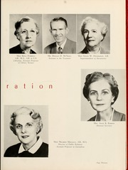 Page 17, 1956 Edition, Queens University of Charlotte - Coronet Yearbook (Charlotte, NC) online yearbook collection