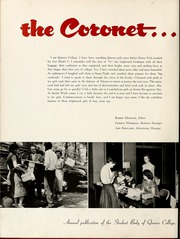 Page 6, 1956 Edition, Queens University of Charlotte - Coronet Yearbook (Charlotte, NC) online yearbook collection