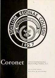 Page 5, 1964 Edition, Queens University of Charlotte - Coronet Yearbook (Charlotte, NC) online yearbook collection