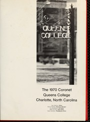 Page 5, 1970 Edition, Queens University of Charlotte - Coronet Yearbook (Charlotte, NC) online yearbook collection