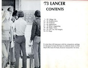 Page 2, 1973 Edition, Surry Community College - Lancer Yearbook (Dobson, NC) online yearbook collection