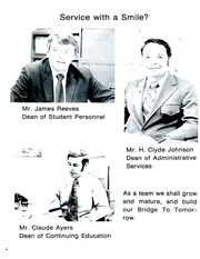 Page 10, 1974 Edition, Surry Community College - Lancer Yearbook (Dobson, NC) online yearbook collection