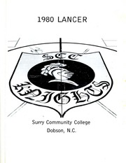 Page 3, 1980 Edition, Surry Community College - Lancer Yearbook (Dobson, NC) online yearbook collection
