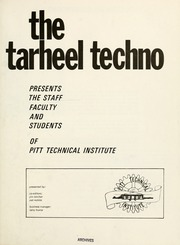 Page 5, 1972 Edition, Pitt Community College - Tarheel Techno Yearbook (Greenville, NC) online yearbook collection