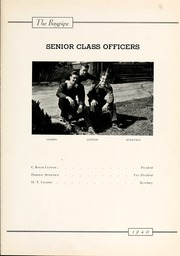 Page 13, 1940 Edition, St Andrews Presbyterian College - Lamp and Shield Yearbook (Laurinburg, NC) online yearbook collection