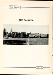 Page 8, 1940 Edition, St Andrews Presbyterian College - Lamp and Shield Yearbook (Laurinburg, NC) online yearbook collection