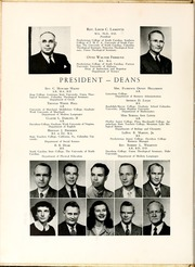 Page 12, 1950 Edition, St Andrews Presbyterian College - Lamp and Shield Yearbook (Laurinburg, NC) online yearbook collection
