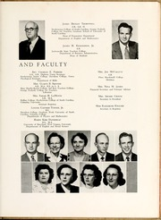Page 13, 1950 Edition, St Andrews Presbyterian College - Lamp and Shield Yearbook (Laurinburg, NC) online yearbook collection