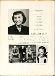Page 16, 1950 Edition, St Andrews Presbyterian College - Lamp and Shield Yearbook (Laurinburg, NC) online yearbook collection