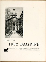 Page 7, 1950 Edition, St Andrews Presbyterian College - Lamp and Shield Yearbook (Laurinburg, NC) online yearbook collection