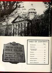 Page 10, 1961 Edition, St Andrews Presbyterian College - Lamp and Shield Yearbook (Laurinburg, NC) online yearbook collection