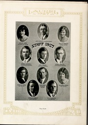 Page 12, 1927 Edition, Mars Hill College - Laurel Yearbook (Mars Hill, NC) online yearbook collection