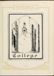 Page 13, 1927 Edition, Mars Hill College - Laurel Yearbook (Mars Hill, NC) online yearbook collection