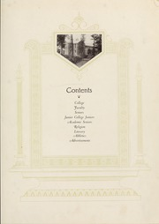 Page 11, 1928 Edition, Mars Hill College - Laurel Yearbook (Mars Hill, NC) online yearbook collection