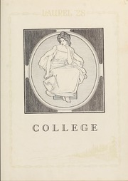 Page 13, 1928 Edition, Mars Hill College - Laurel Yearbook (Mars Hill, NC) online yearbook collection