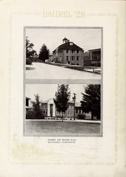 Page 14, 1928 Edition, Mars Hill College - Laurel Yearbook (Mars Hill, NC) online yearbook collection