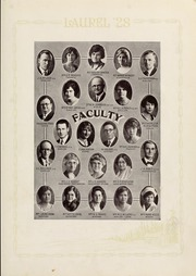 Page 17, 1928 Edition, Mars Hill College - Laurel Yearbook (Mars Hill, NC) online yearbook collection