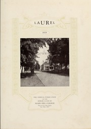 Page 7, 1928 Edition, Mars Hill College - Laurel Yearbook (Mars Hill, NC) online yearbook collection