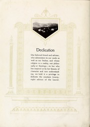 Page 8, 1928 Edition, Mars Hill College - Laurel Yearbook (Mars Hill, NC) online yearbook collection