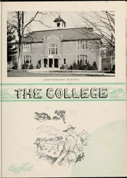 Page 11, 1936 Edition, Mars Hill College - Laurel Yearbook (Mars Hill, NC) online yearbook collection