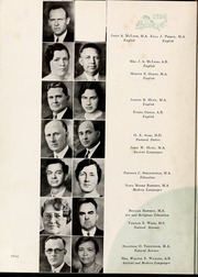 Page 14, 1936 Edition, Mars Hill College - Laurel Yearbook (Mars Hill, NC) online yearbook collection