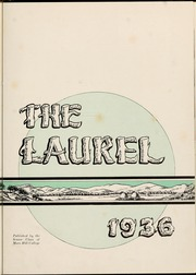 Page 7, 1936 Edition, Mars Hill College - Laurel Yearbook (Mars Hill, NC) online yearbook collection