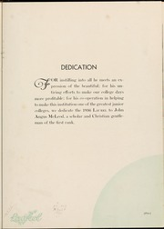 Page 9, 1936 Edition, Mars Hill College - Laurel Yearbook (Mars Hill, NC) online yearbook collection