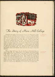 Page 11, 1938 Edition, Mars Hill College - Laurel Yearbook (Mars Hill, NC) online yearbook collection