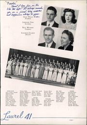 Page 127, 1941 Edition, Mars Hill College - Laurel Yearbook (Mars Hill, NC) online yearbook collection