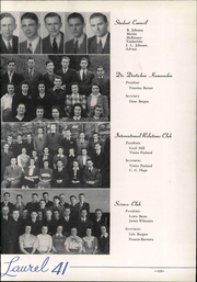 Page 131, 1941 Edition, Mars Hill College - Laurel Yearbook (Mars Hill, NC) online yearbook collection