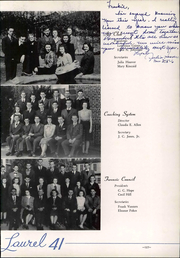 Page 133, 1941 Edition, Mars Hill College - Laurel Yearbook (Mars Hill, NC) online yearbook collection