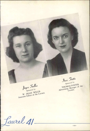 Page 141, 1941 Edition, Mars Hill College - Laurel Yearbook (Mars Hill, NC) online yearbook collection