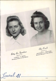 Page 143, 1941 Edition, Mars Hill College - Laurel Yearbook (Mars Hill, NC) online yearbook collection